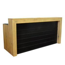 Gerlof event meubilair bar zwart eiken paneel